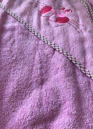 Полотенце детское капюшон