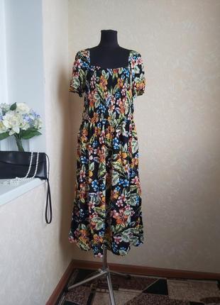 Яркое цветное платье dorothy perkins