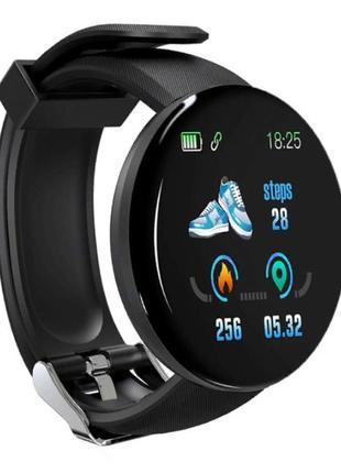Фитнес браслет d18 трекер смарт часы