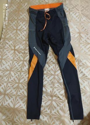 Компрессионные треккинговые штаны лосины peak performance compression