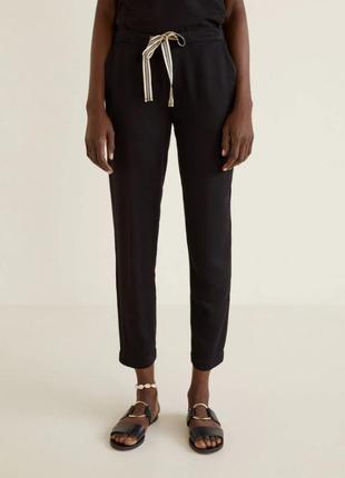 Стильные штаны, брюки от mango, оригинал, xs, s размеры1 фото