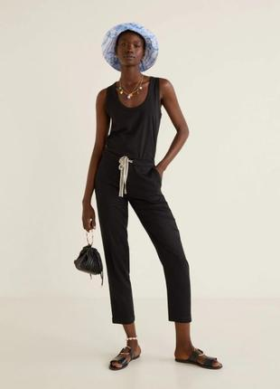 Летние штаны, брюки от mango, оригинал, xs, s размеры