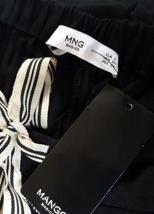 Стильные штаны, брюки от mango, оригинал, xs, s размеры7 фото