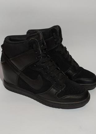 Nike оригинал, кроссовки на платформе, сникерсы, размер 37/37.5