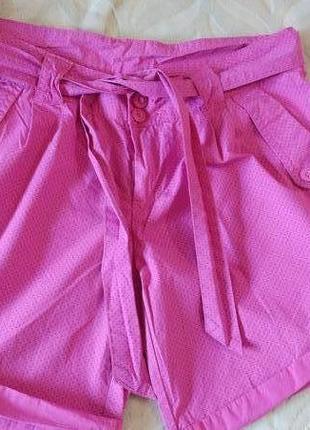 Красивые яркие шорты  denim co