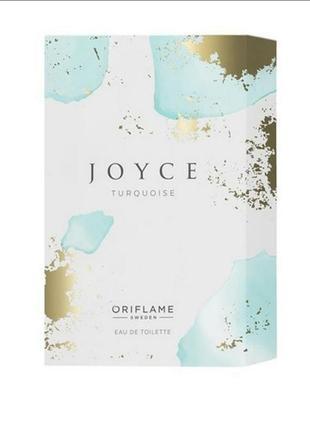 Туалетна вода joyce turquoise [джойс терквойз]  50 мл