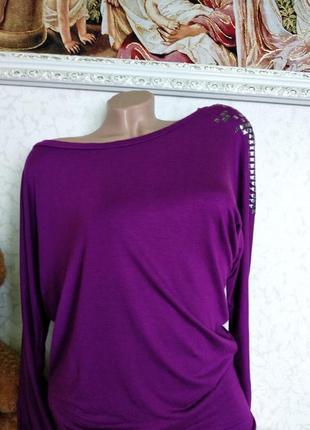 Блуза- кофточка трикотажная 46-50р.