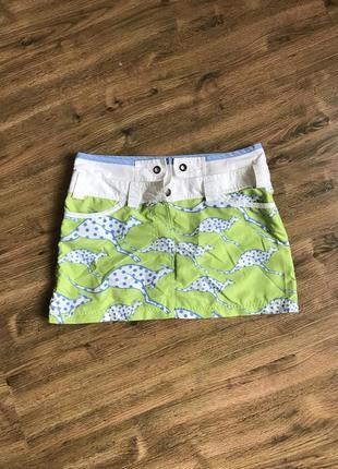 Летняя веселая юбочка