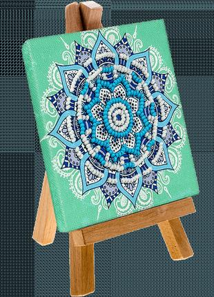 Мандала вышивка бисером, набор для рукоделия