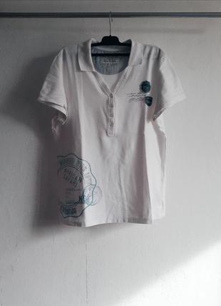 Polo поло тенниска рубашка короткий рукав футболка майка на пуговицах tom tailor