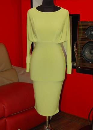 Фирменное летнее женское платье-бабочка rare london