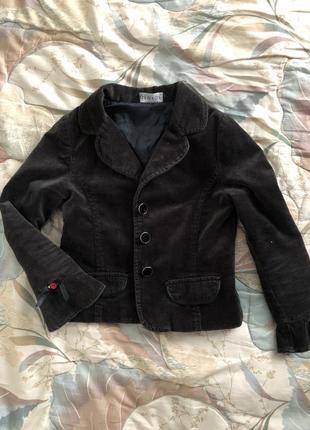 Велюровый пиджак george 4-5 лет