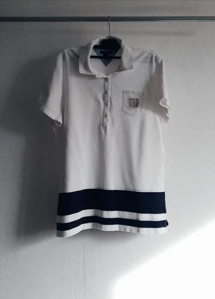 Polo поло тенниска рубашка короткий рукав футболка майка на пуговицах  tommy hilfiger