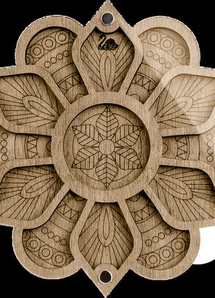 Органайзер, шкатулка  для бисера с прозрачной крышкой