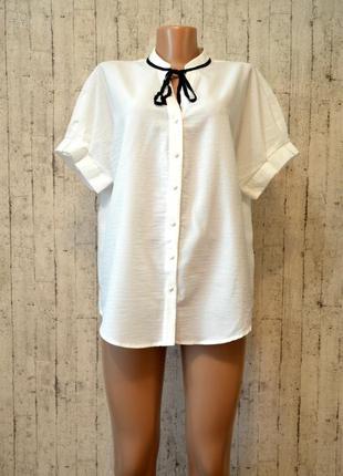 Легкая блуза с коротким рукавом