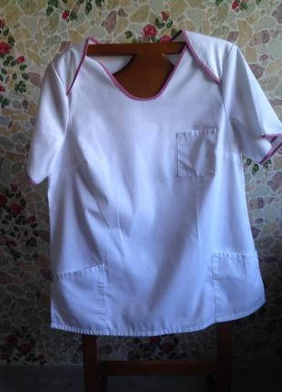 Медицинская одежда верх р.50-54 (см. замеры!)новая