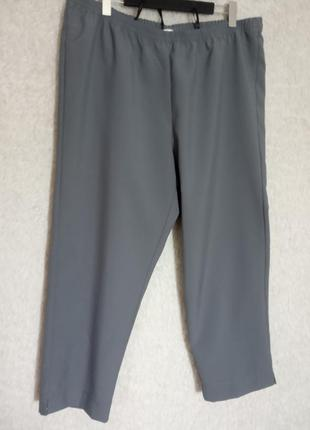 Серые штаны батал