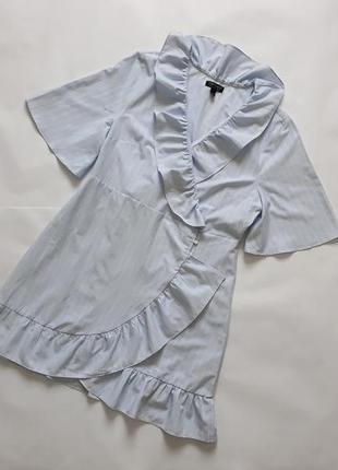 Стильное легкое платье в полоску topshop в отличном состоянии