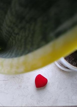 Коробочка сердце, сердечко для ювелирных украшений