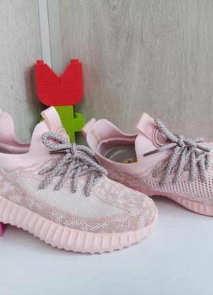 Текстильные кроссовки девочке
