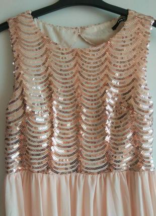 Вечернее платье от tfnc