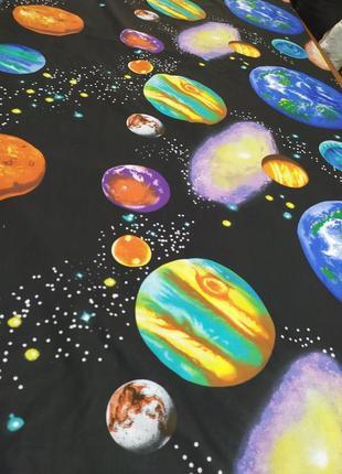 Постільна білизна космос, всі розміри бязь