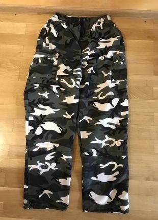 Спортивные штаны 3 в 1, камуфляж (шорти - бріджі - штани)