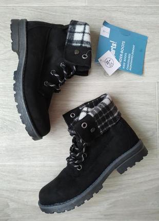 Новые ботинки демисезонные германия 🇩🇪