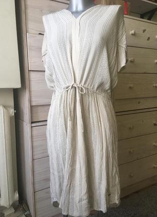 Красивою натуральное миди платье вискоза бохо 12-14 италия 🇮🇹