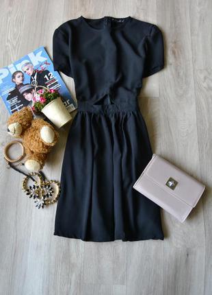 Шифоновое платье с вырезом спереди missguided