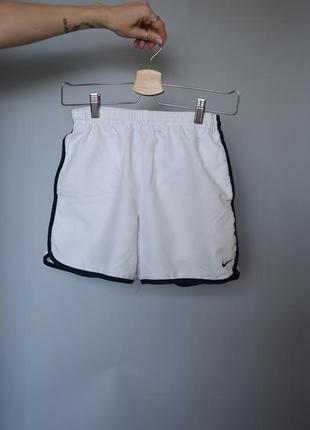 Шорты спортивные, шорты для спорта белые nike, спортивная форма