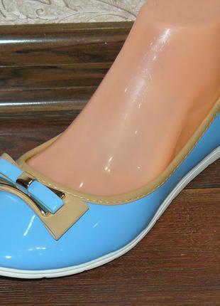 Туфли-балетки 24,5см в наличии