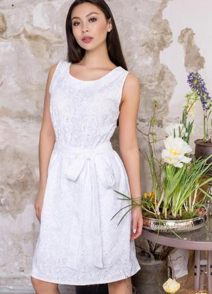 Платье- майка, свободного силуэта