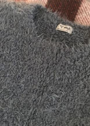 Пушистый свитер-травка next