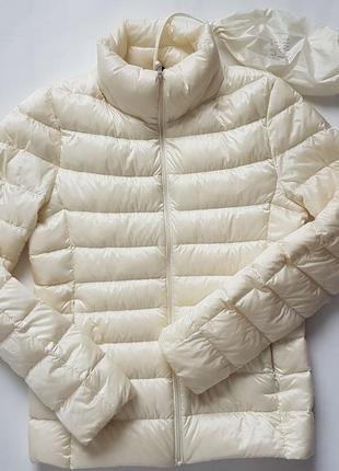 Куртка пуховик ультралегкий uniqlo розмір s