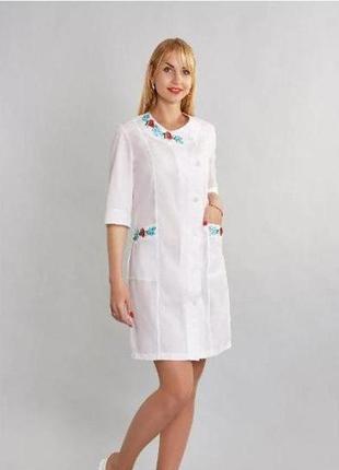 Женский медицинский халат размер 52 на рост 170