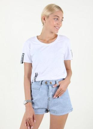 Шорты женские minghui 935 джинс