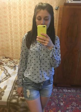 Рубашка женская вискоза