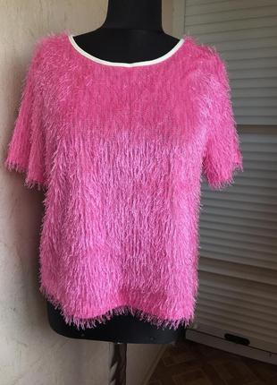 Распродажа ❗️яркая розовая блуза от select