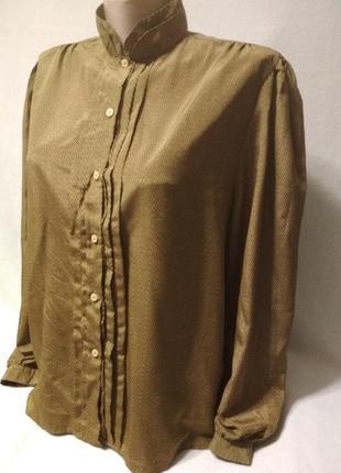 Блузка, рубашка с длинным рукавом. jean claude