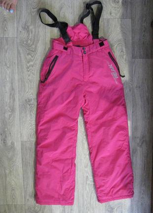 Зимние лыжные термо штаны 152 см 11-12-13 лет термоштаны комбинезон