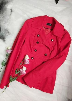 Стильное брендовое полупальто пиджак жакет куртка весна осень