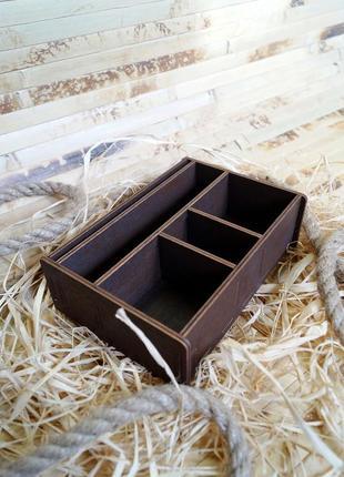 Салфетница, деревянный органайзер, дерев'яний органайзер для кухні
