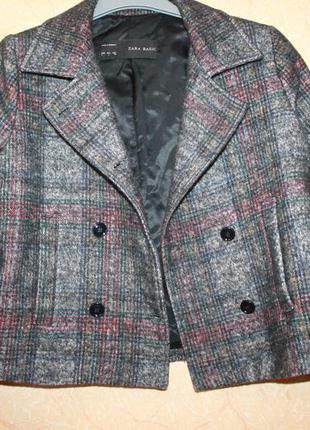 Пальто пиджак zara3 фото