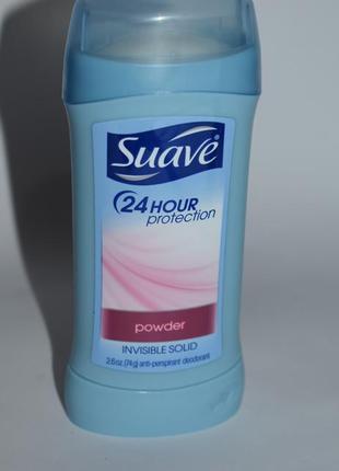 Дезодорант антиперспирант suave 24 hour protection powder antiperspirant deodorant usa