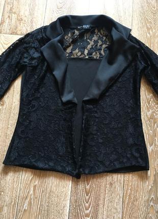 Ажурный пиджак блейзер