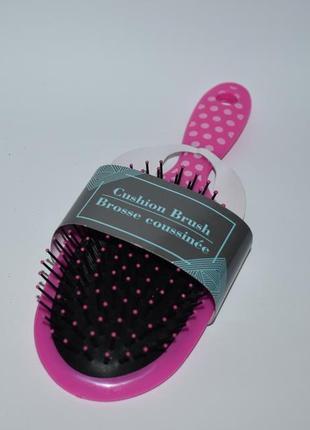 Новая розовая расческа cushion hair brush оригинал сша