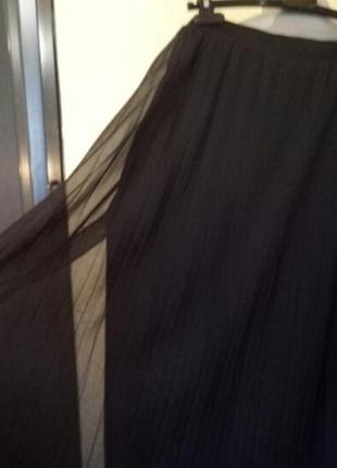 Шикарная юбка гофре