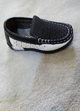 Туфлі мокасини для хлопчика