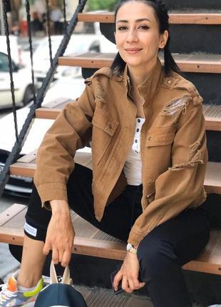 Джинсова куртка турция